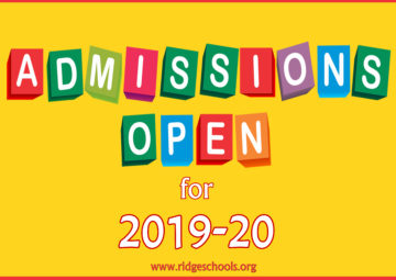 Admissions Opened for Academic Year 2019-2020